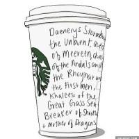 Daenerys @ Starbucks