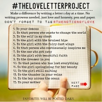 #TheLoveLetterProject
